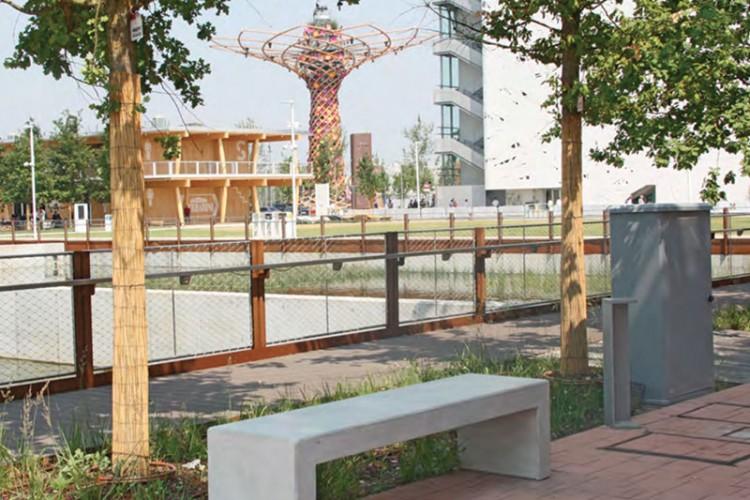 EXPO sceglie Calzolari arredo urbano