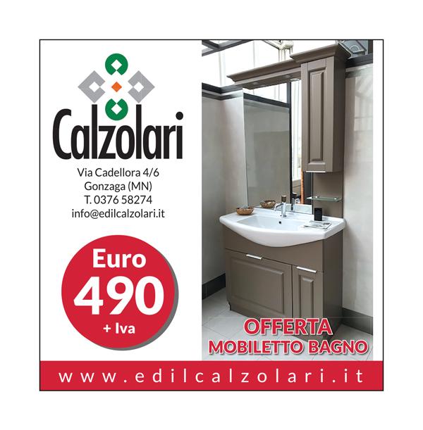 Offerta mobiletto bagno edil calzolari for Calzolari arredo urbano